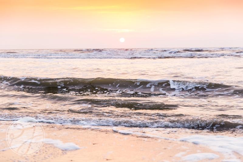 Romantische loveshoot bij zonsondergang 8